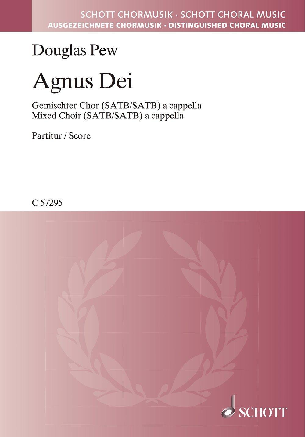 Agnus Dei  - Double Chorus