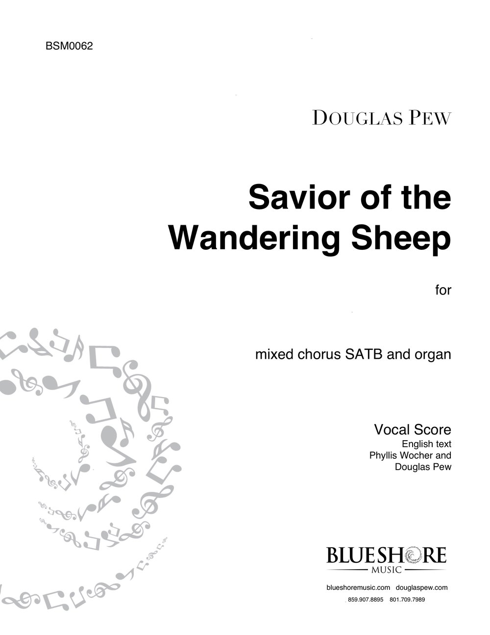 Savior of the Wandering Sheep    SATB (or congregation) and Organ
