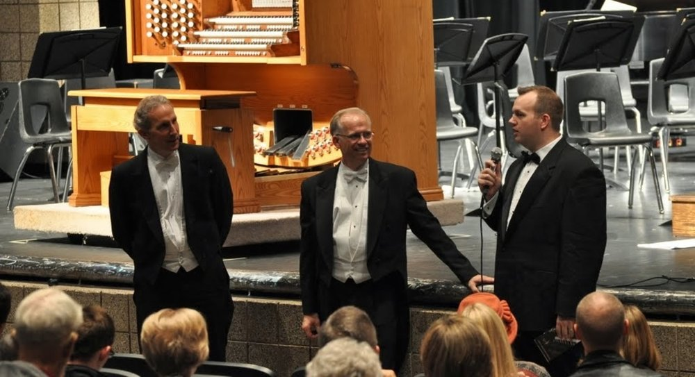2014 with Richard Elliott, John Pew, and the Timpanogos Symphony Orchestra