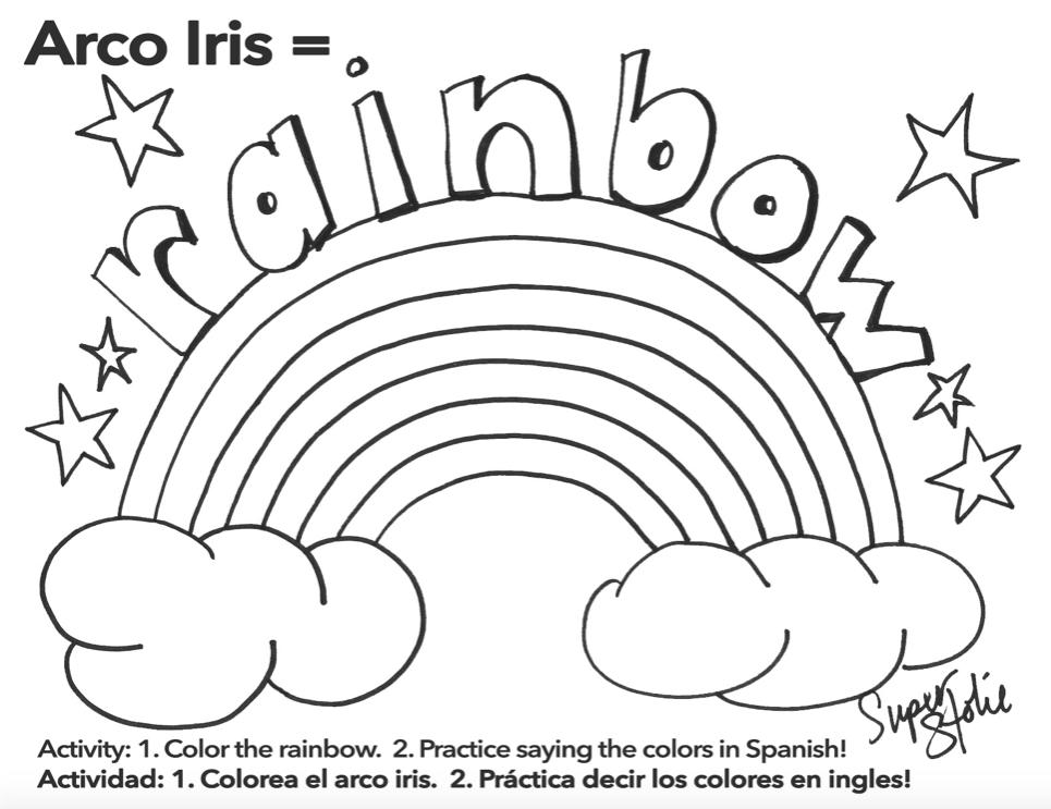 Página para Colorear