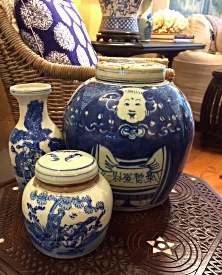 Blue & White Jars