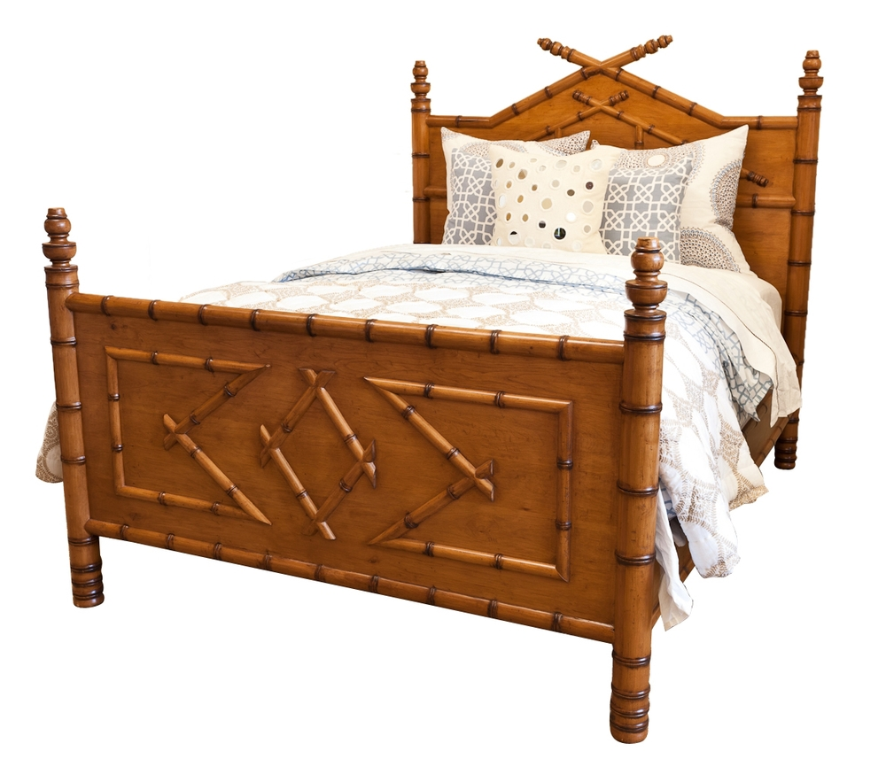 Beds Headboards on Cane And Bamboo Furniture