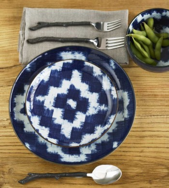 Ikat Dinnerware & Entertaining u2014 Rooms u0026 Gardens