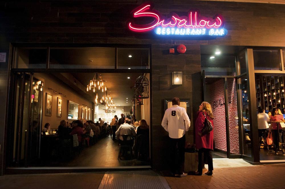 Swallow restaurant in Huntington, Long Island, NY.