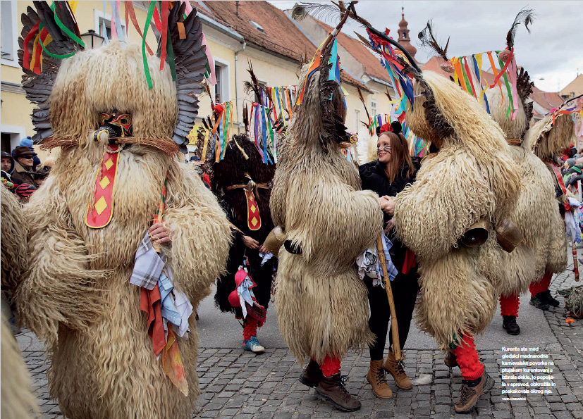 Festivities in Ptuj.