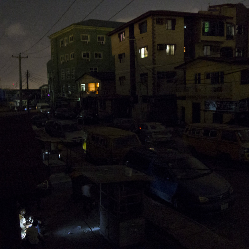 Shomolu at night