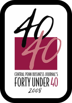 2008: Selected as one of Central Penn Business Journal's Forty Under 40