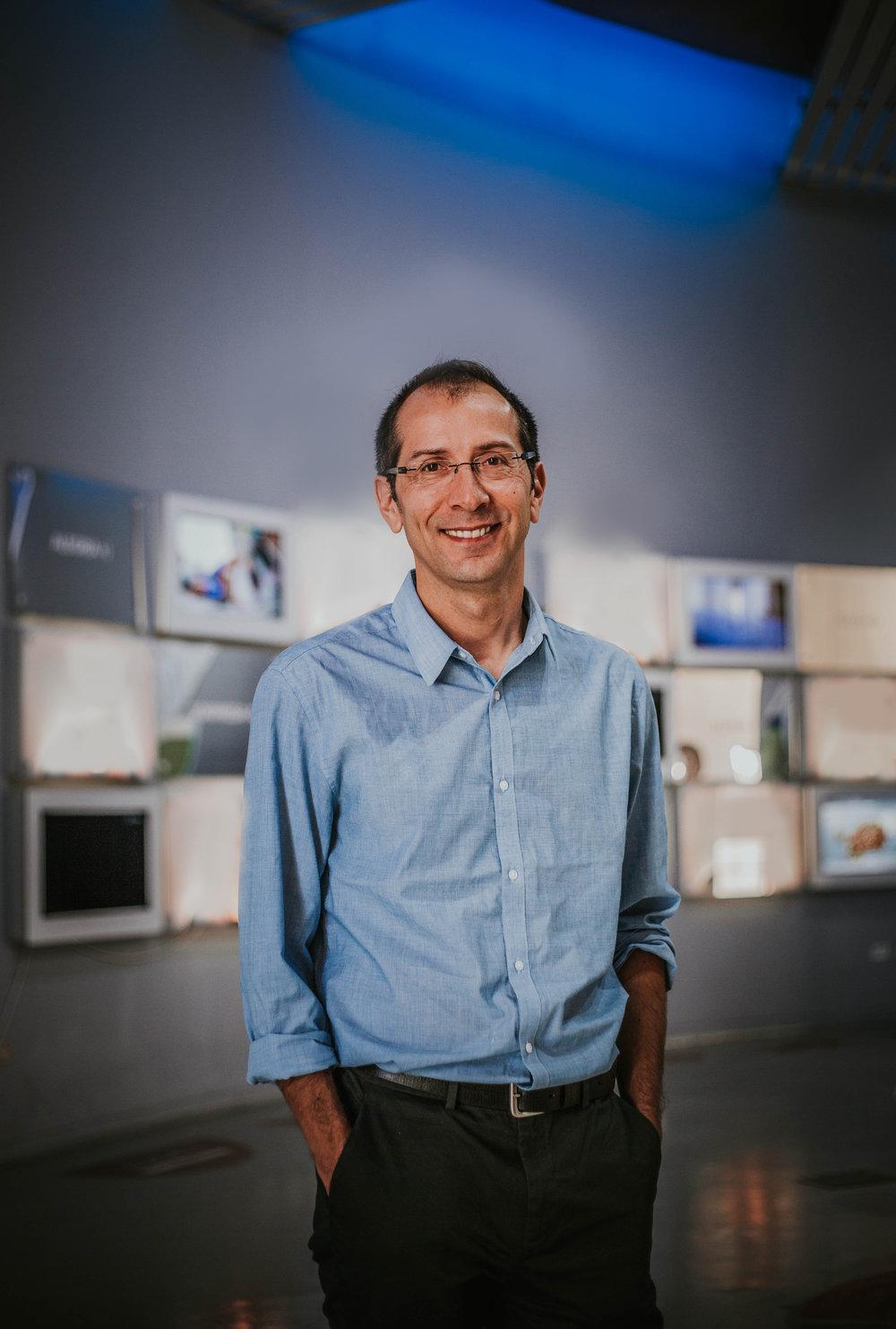 Dr. Juan Carlos Gacitúa, Director del Centro Interactivo de Ciencias, Artes y Tecnologías, CICAT, y Director del Proyecto Asociativo Regional (PAR) Explora CONICYT Biobío.