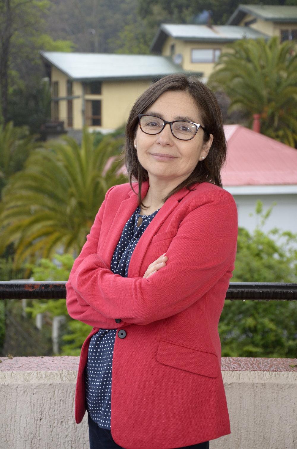 Dra. Andrea Rodríguez, Vicerrectora de Investigación y Desarrollo de la Universidad de Concepción