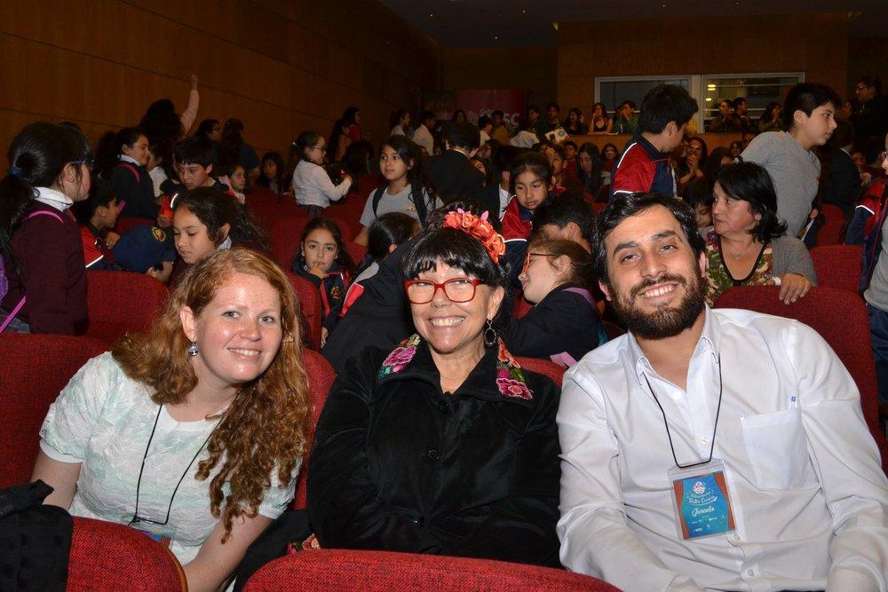 La decimoprimera versión del Festival Escolar de Teatro yCiencia contó con la participación de la destacada actriz, directora teatral y dramaturga chilena, Malucha Pinto.