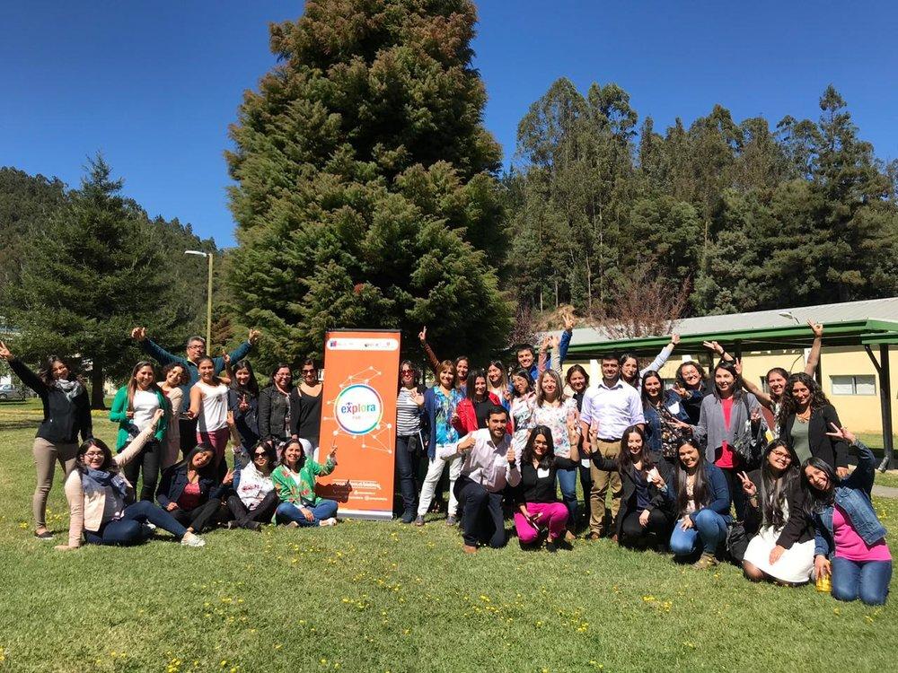 PAR Explora Biobío capacitó a 74 profesores de las regiones del Biobío y del Ñuble