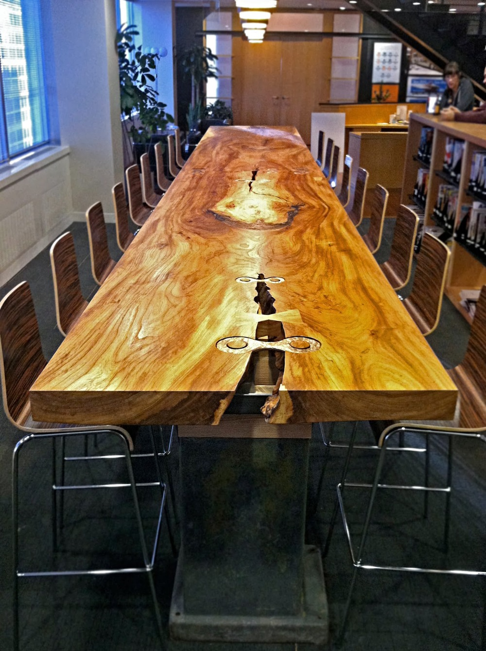 Clarity Coverdale Fury Conference Table detail