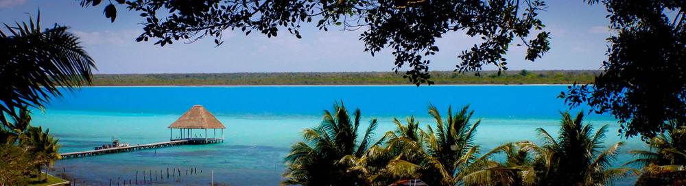 Bacalar: the lagoon of 7 colors. A beautiful place with such an awesome vibe! One of my favorite places!