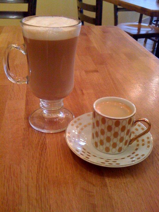 Cafe con leche & Espresso
