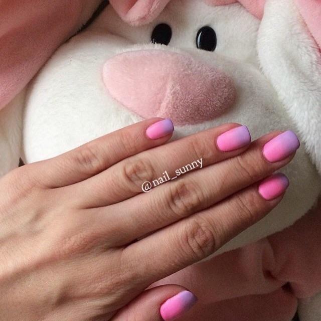 Лиловый и розовый в Матовом топе!