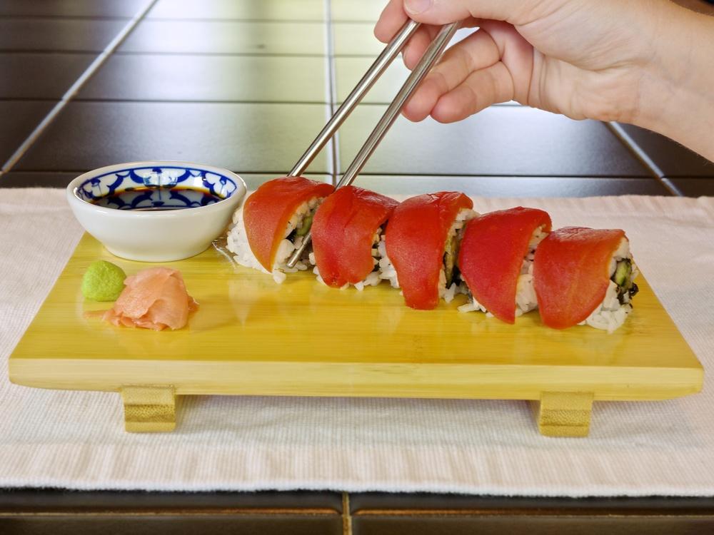 Tomato sushi for Whole foods sushi grade fish