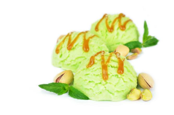 Pistachio Cardamom Ice Cream