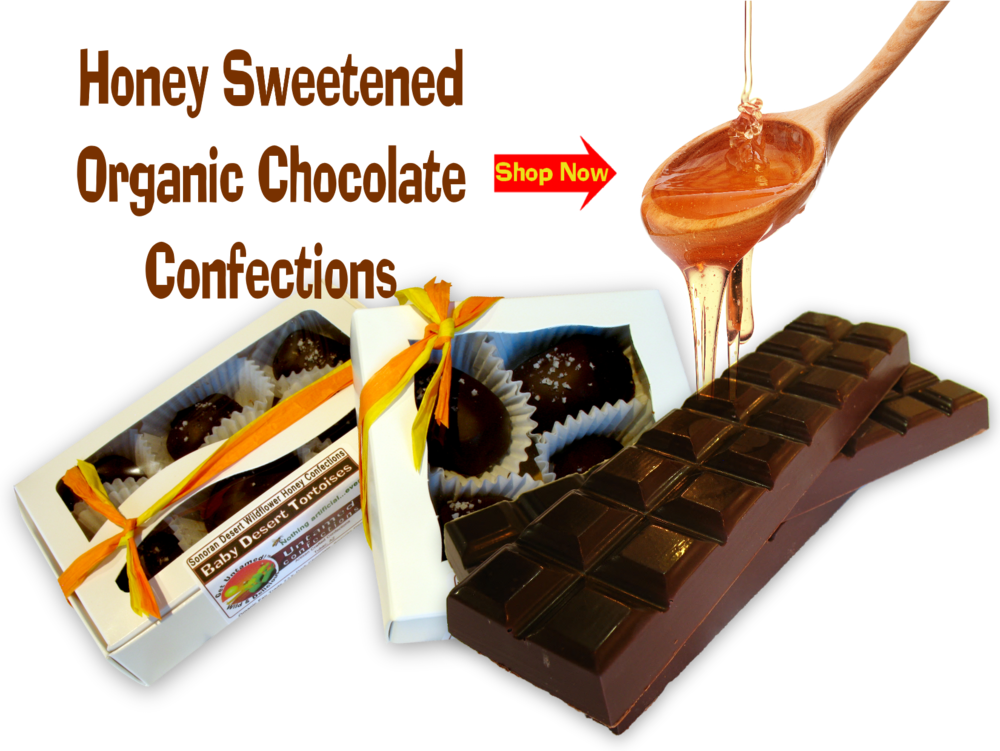 Organic Honey Sweetened Chocolate