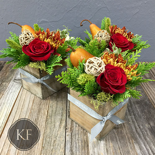 Winter Trio at King Florist