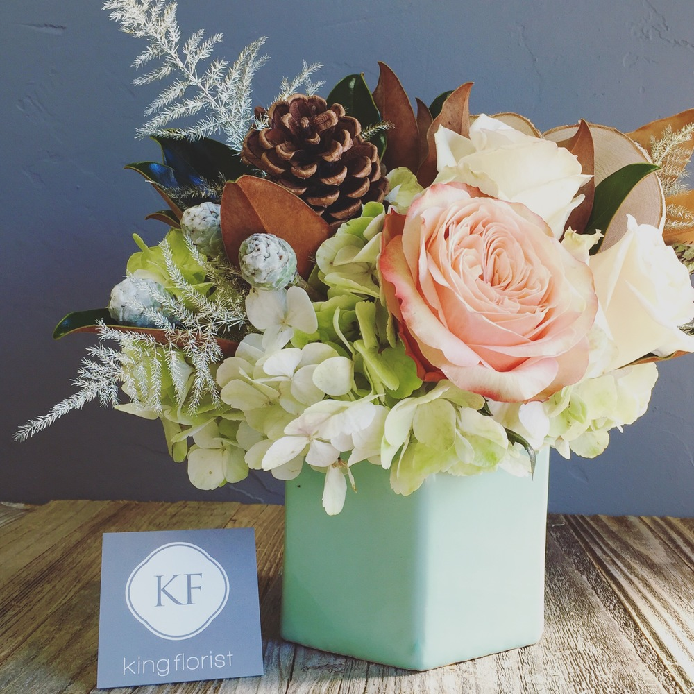 Austin texas flower delivery michael has a pretty good idea of how to keep his girlfriend tamara happy and it has a lot to do with king florist mightylinksfo