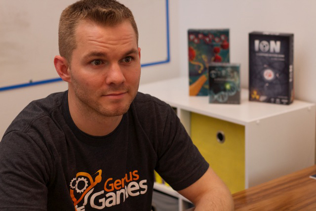 John Coveyou, Genius Games CEO