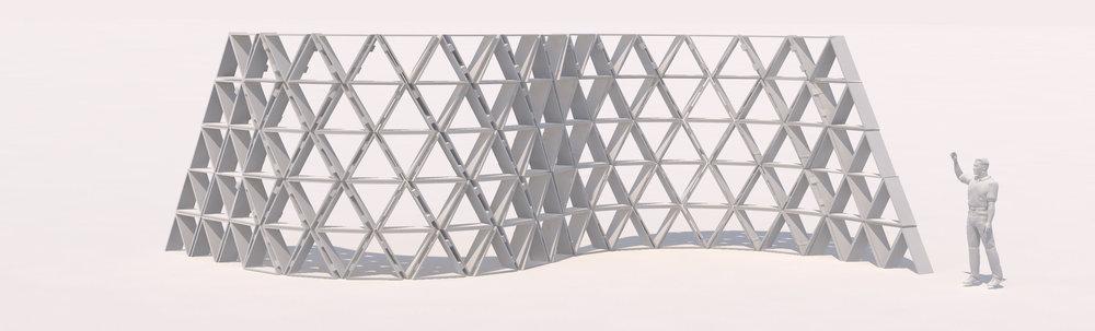 Shade Wall