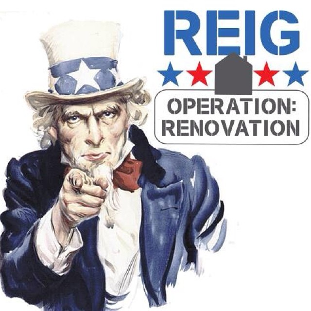 Last day for applications is today!! Make sure to fill out our application or nominate someone today! #reigoperationrenovation #reig #reigroup @reiggroup #military #navy #veterans #construction #reigconstruction