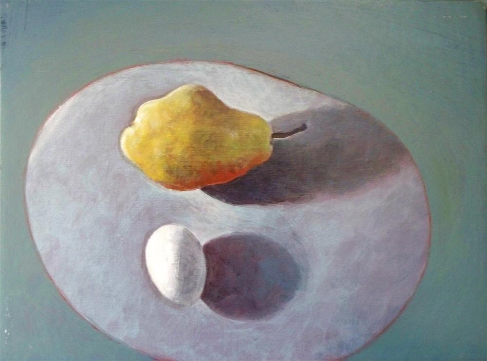 pear + egg