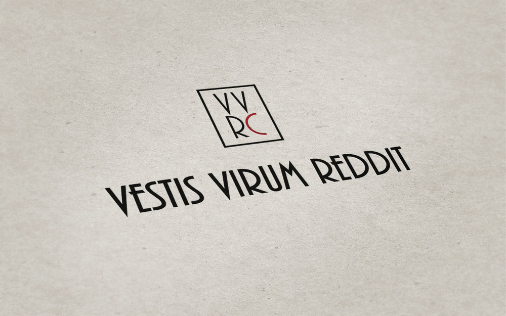 Vestis Virum Reddit Clothing Identity, Design, Print