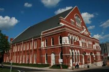 The Ryman Auditorium- Nashville, TN