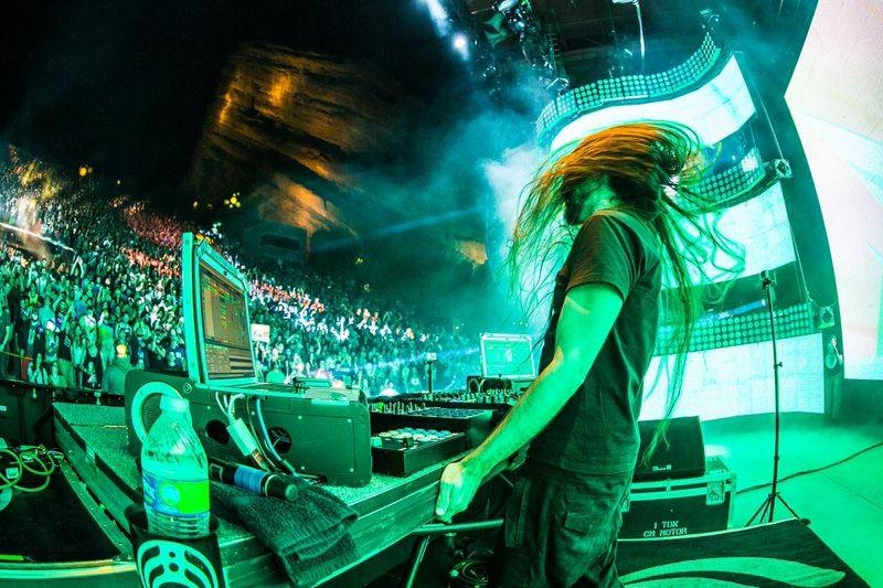 Bassnectar  @ Red Rocks Amphitheater 2014