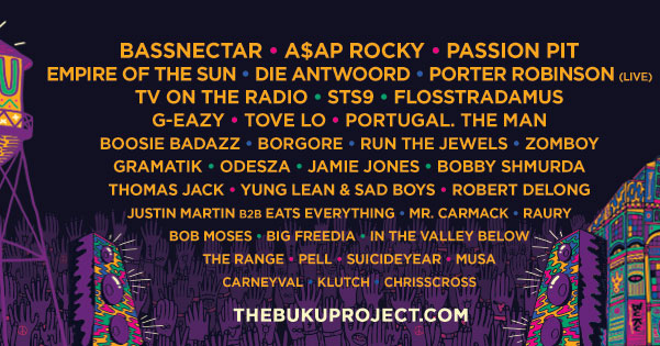 BUKU Locks n Their Line Up For 2015--- And You Don't Want to Miss It