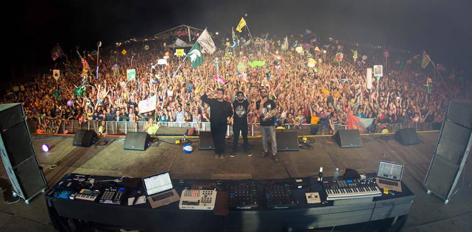 Gramatik Closing out the festival at Sherwood Court (Photo is not property of Bass Feeds The Soul)