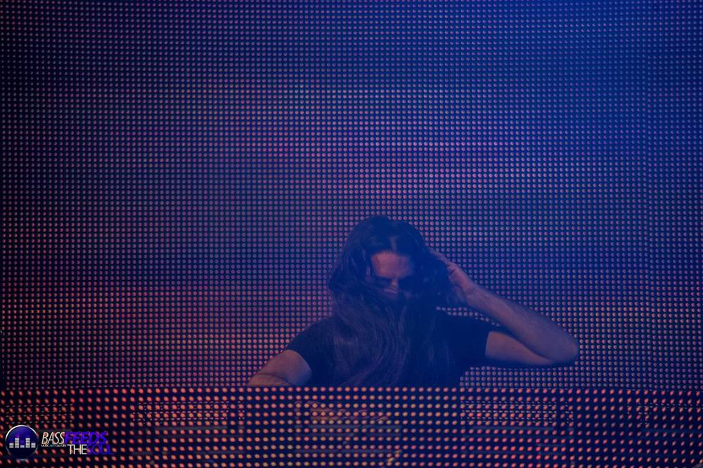 Bassnectar takes the stage, moving and mesmerizing the crowd for the next 90 minutes