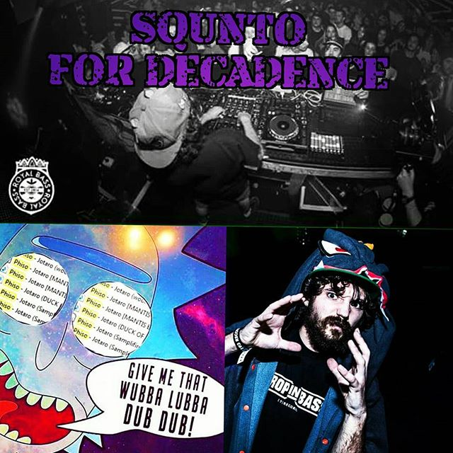 Join the movement to unleash  the #dragondrops on #denver at #decadence2016 @djsqunto 📣 share the message #makemoves#squnto#dragondrops#octodropyourface#squntothedragonlord#squnts2016#nye#COvibes#basscapital#bassfeedsthesoul ☢🕉🔥🐍☢