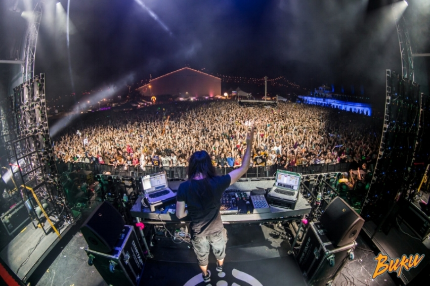 Bassnectar at Buku Music Festival 2015