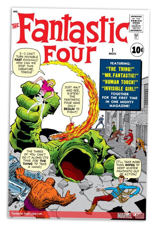 FANTASTIC FOUR (1961) #1 Published: November 08, 1961