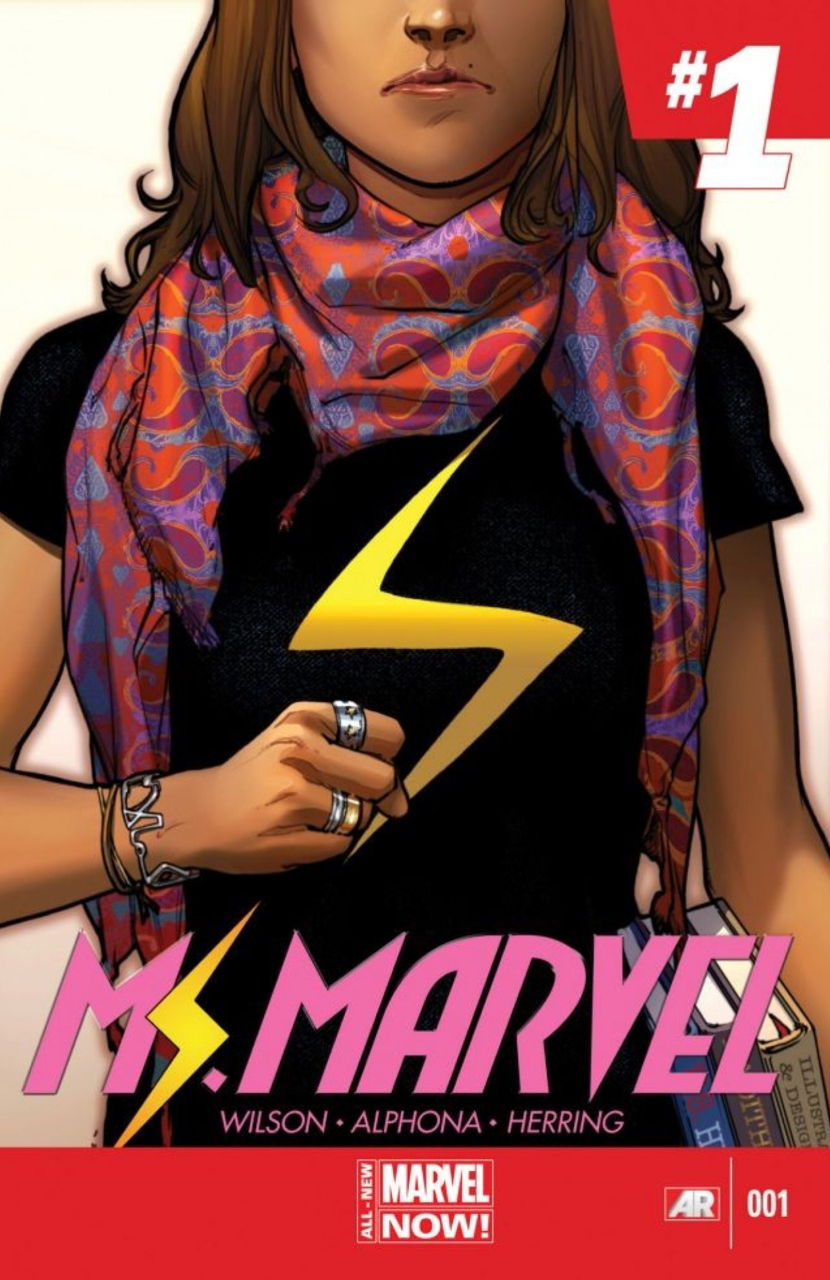 Ms. Marvel Volume 1: No Normal, written by G. Willow Wilson, illustrated by Adrian Alphona and Jake Wyatt, (Marvel Comics)