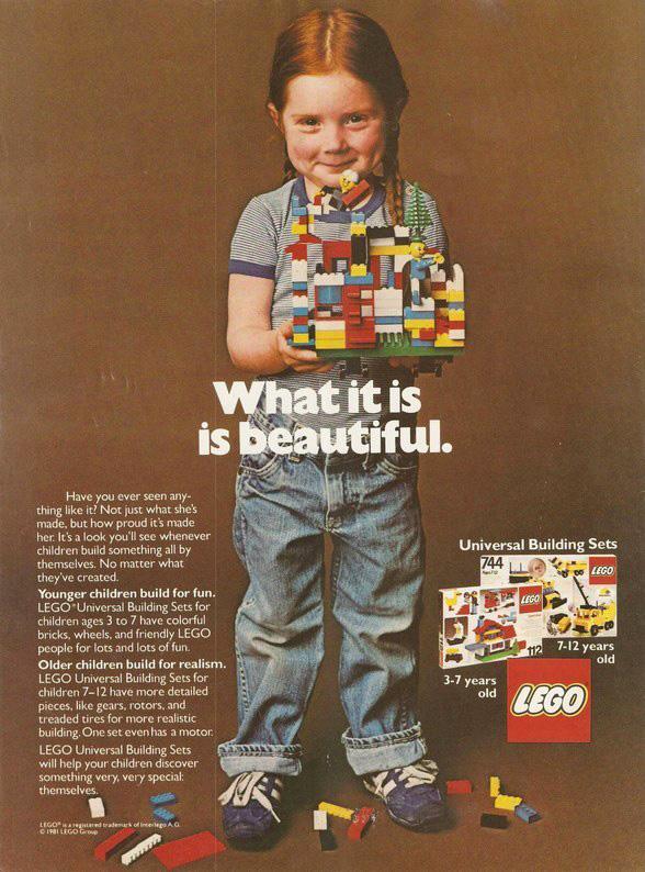 1970s Lego Advertisement