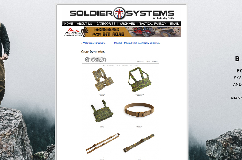Soldier Systems - Company Profile