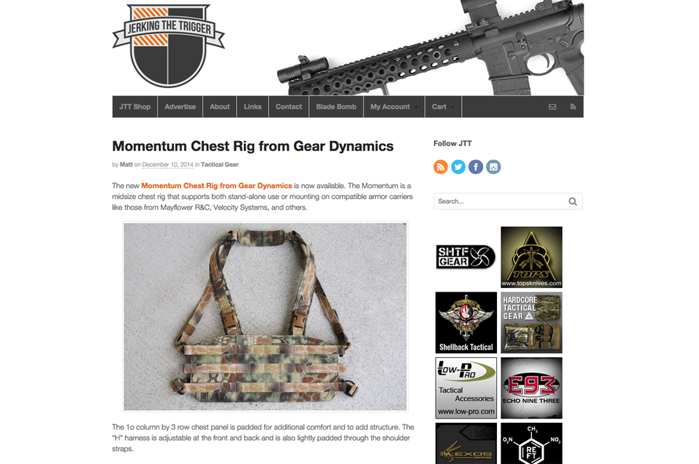 Jerking The Trigger - Momentum Chest Rig