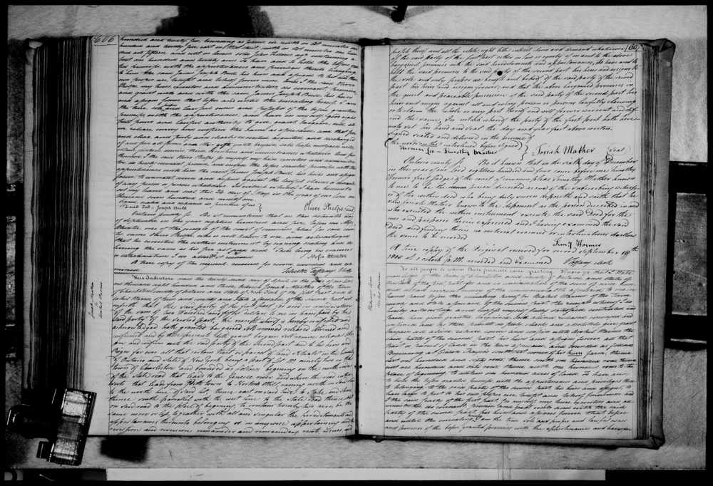 Land deed, Charleston, Ontario, New York, 1803
