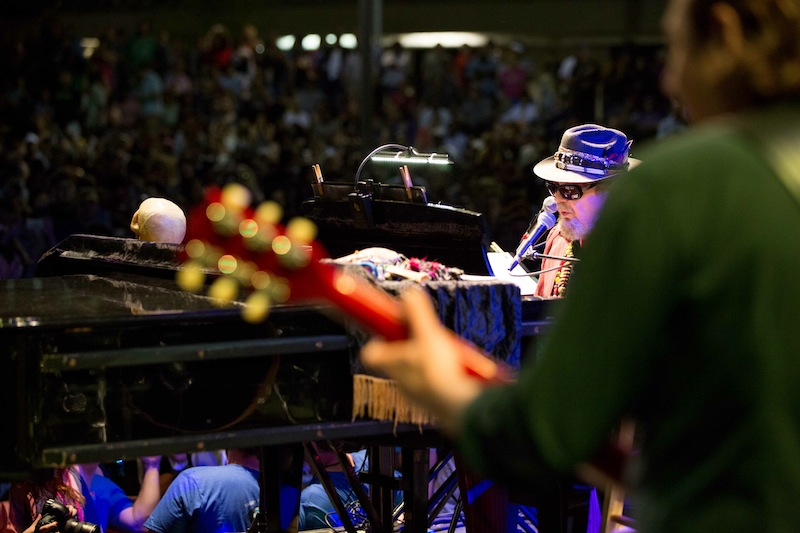 2014 headliner Dr. John & The Nite Trippers