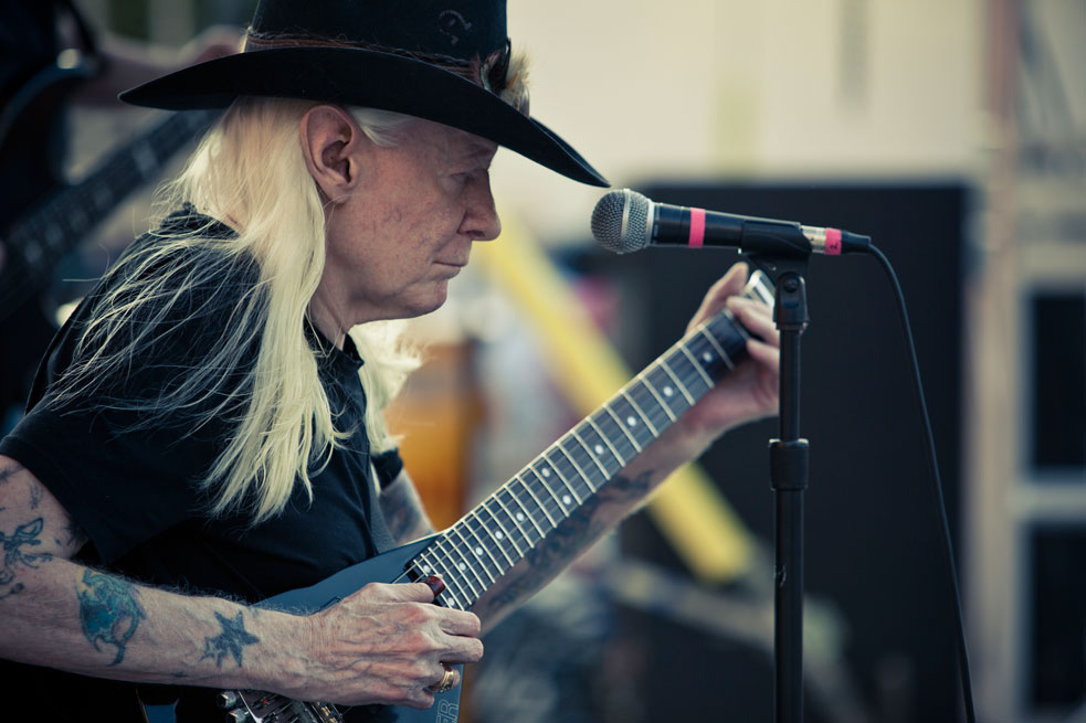 2012 headliner Johnny Winter