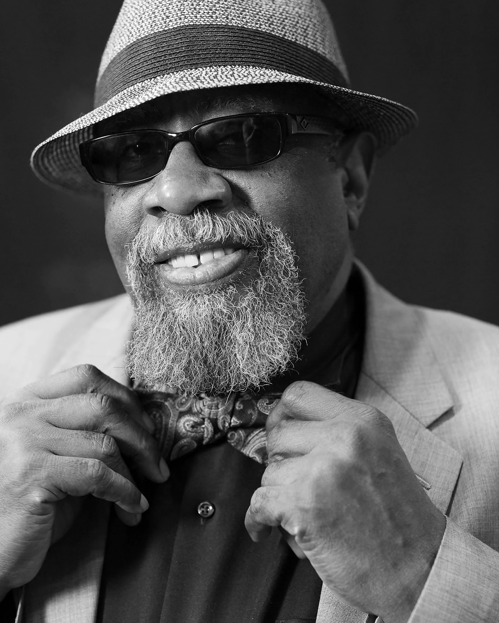 Bill Sims Jr. of Heritage Blues Orchestra