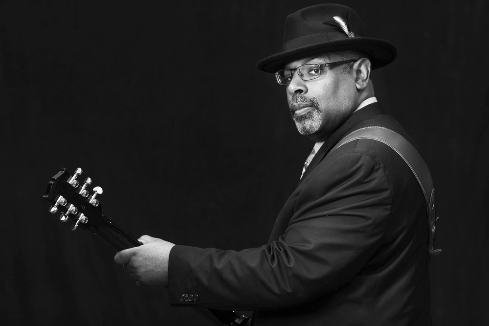 Junior Mack of Heritage Blues Orchestra