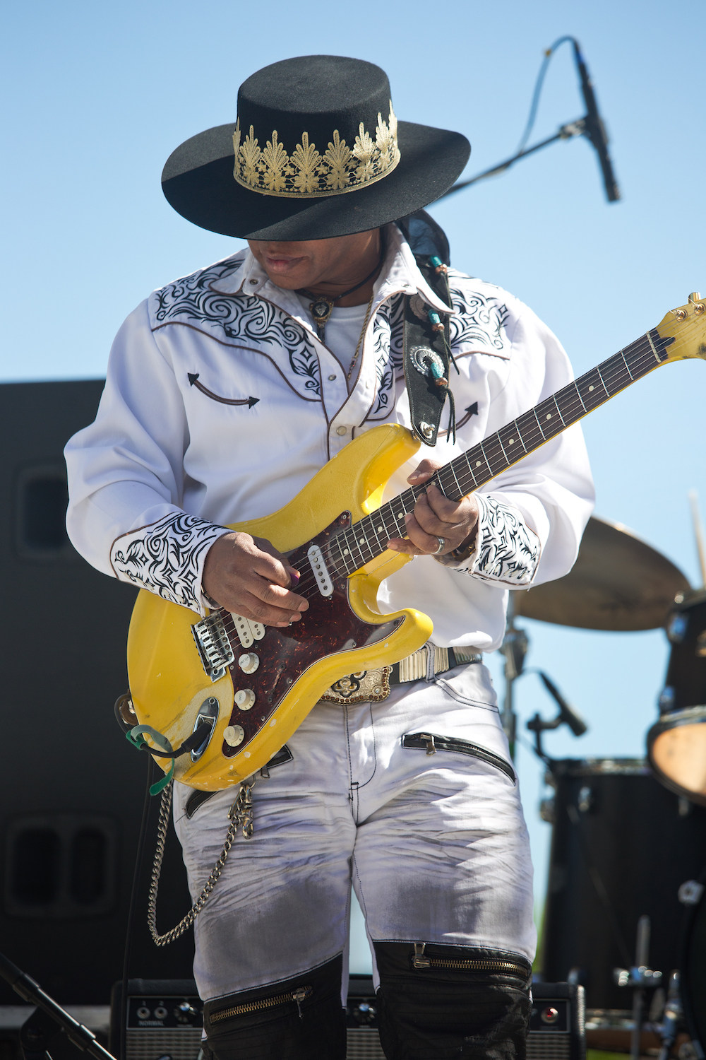 Troy Turner © Baton Rouge Blues Festival/Kevin Duffy