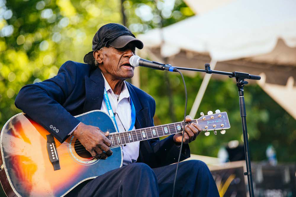 Jimmy 'Duck' Holmes © Baton Rouge Blues Festival/Raegan Labat