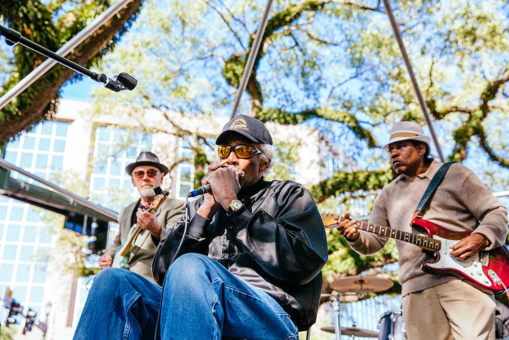 Lazy Lester © Baton Rouge Blues Festival/Raegan Labat