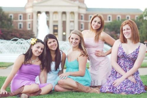Juniors:  Katie Romano, Melinda Ng, Abi Clark, Jackie Rodriguez, Rebecca Thompson